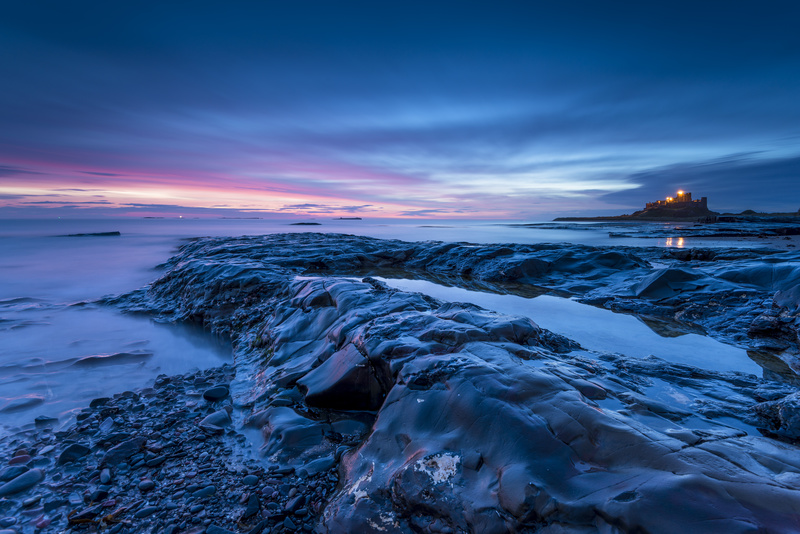 Bamburgh dawn - Northumberland