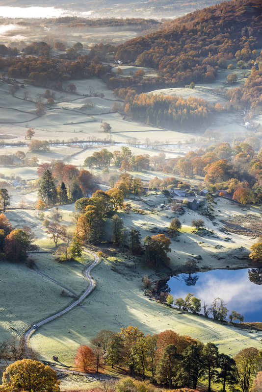 Frosty Autumn morning in the Lake District - Lake District & Cumbria