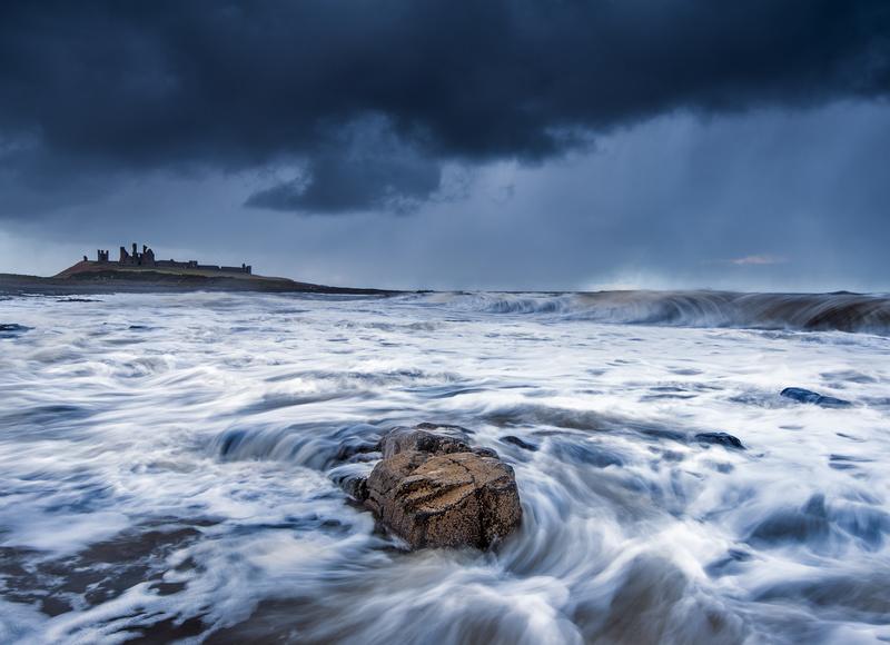 Wild Dunstanburgh, Northumberland - Northumberland