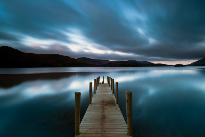 Derwent water dawn, Cumbria, England. - Landscape Photographer of the Year awards, 2011, 2012, 2013, 2014, 2015, 2016...