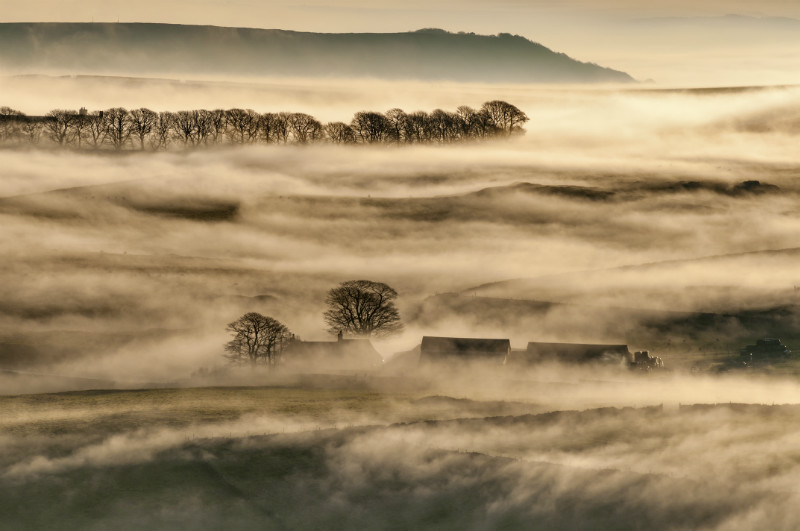 Oxlow house, Derbyshire, England. - Landscape Photographer of the Year awards, 2011, 2012, 2013, 2014, 2015, 2016...