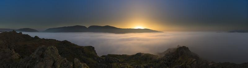 Helm Crag Twilight - Lake District & Cumbria