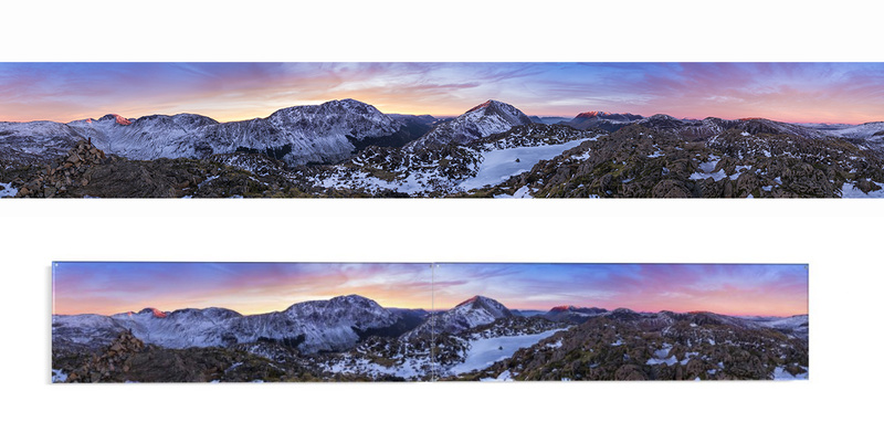 Haystacks sunset 360 - Lake District & Cumbria
