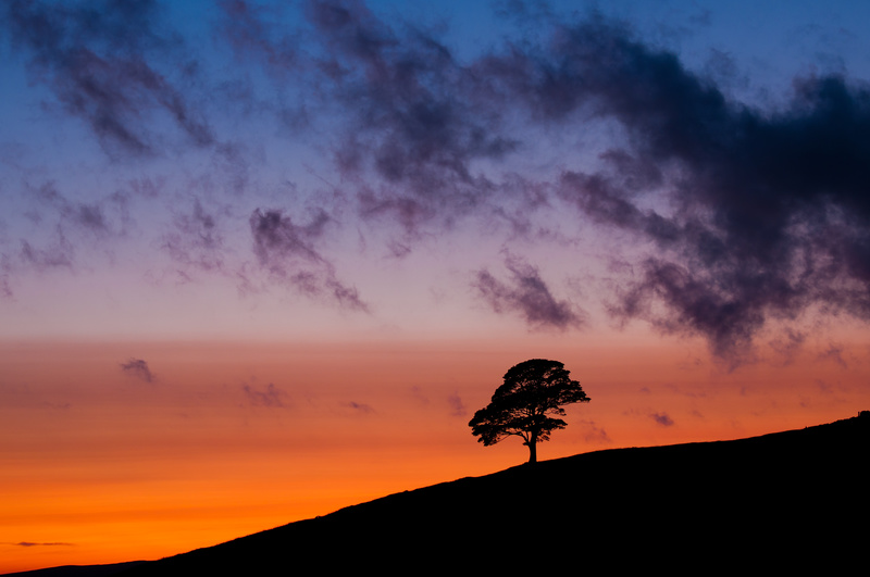Dusk at the Roaches - Peak District & surrounding area