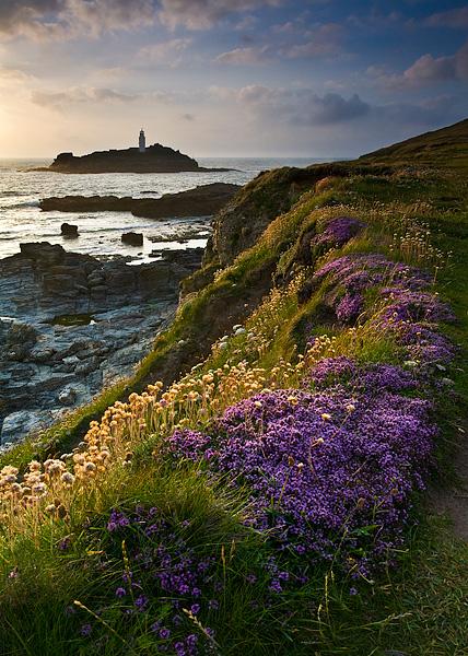 Godrevy Lighthouse - Inland and Coastal England