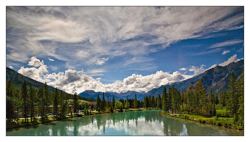 Bow River - Canada - North America