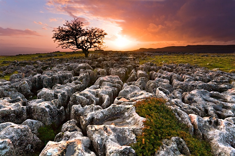Twistleton Scar - Inland and Coastal England