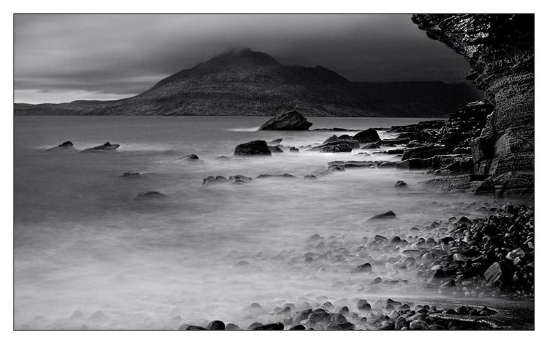 Black Cuillins - Isle of Skye - Monochrome Images
