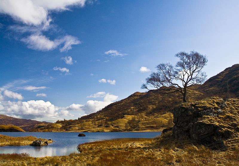 Loch Katrine - Trossachs - Inland Scotland