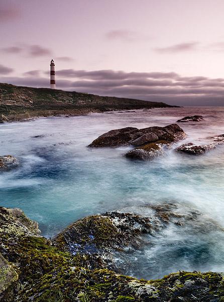 Tarbatt Ness Lighthouse - Sutherland - Coastal Scotland