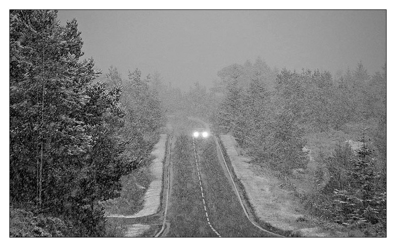 White Out - Monochrome Images