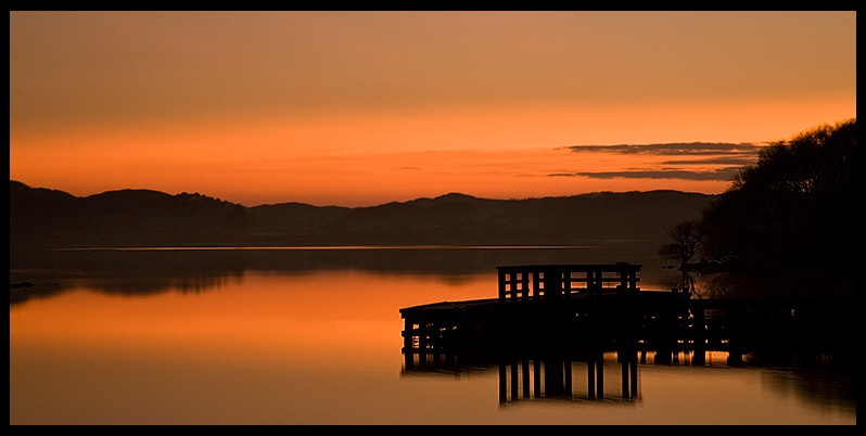 Loch Morar Sunset - Inland Scotland