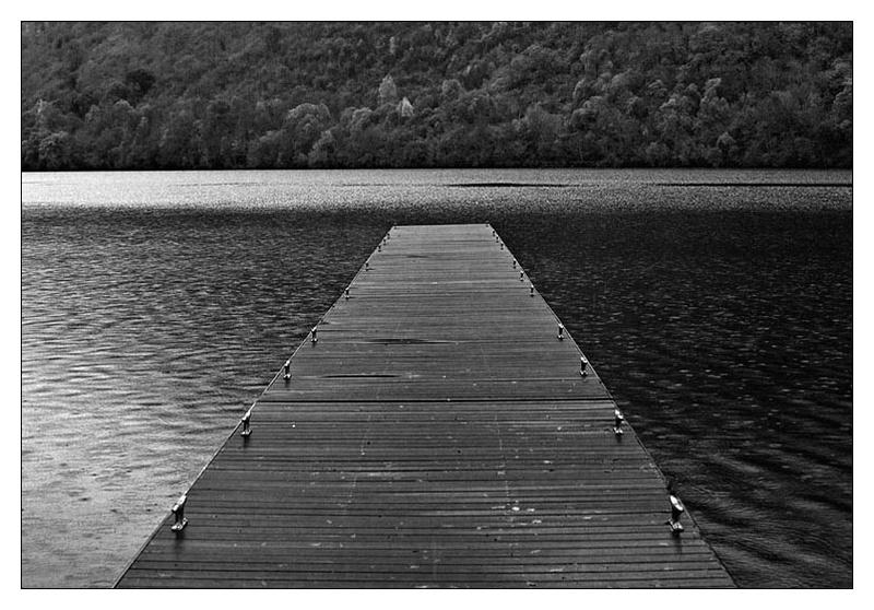 Loch Oich - Monochrome Images