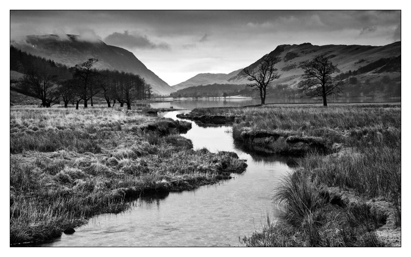 Buttermere - Lake District - Monochrome Images