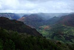 Waimea Canyon, Kauai, Hawaiian Islands