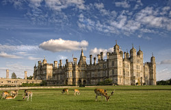 Summer's Day at Burghley house.