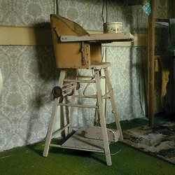 High Chair with Clothes Horse