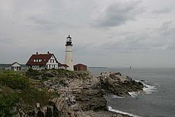 Lighthouses & Maine portfolio