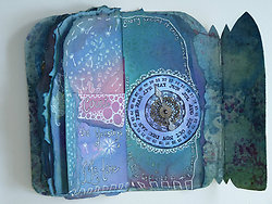 Altered Books and Handmade Books portfolio