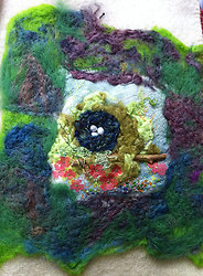 Art made on Vintage Blankets portfolio