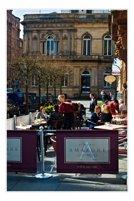 Glasgow Restaurant - Commissions and Commercial Photography