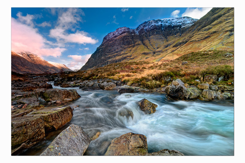 Flowing through the glen - The Light Captured