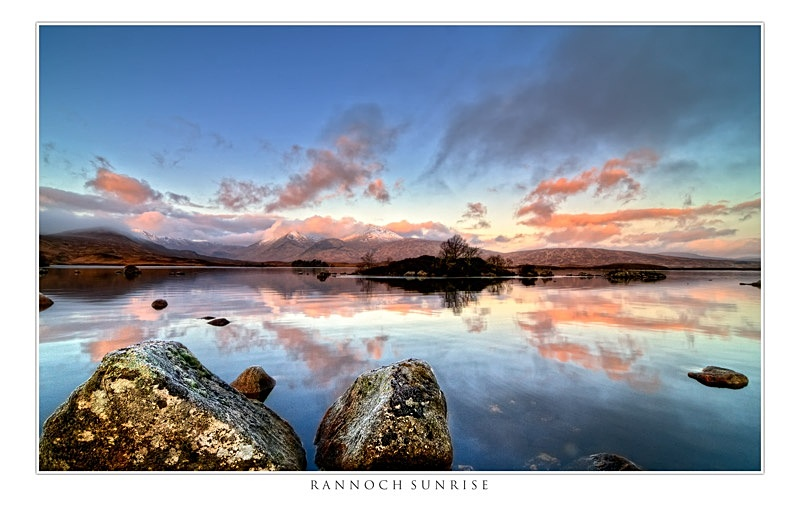 Rannoch Sunrise - The Light Captured