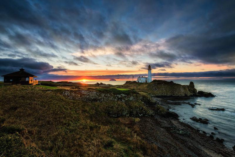 Reflected Sunset - Ayrshire Gallery