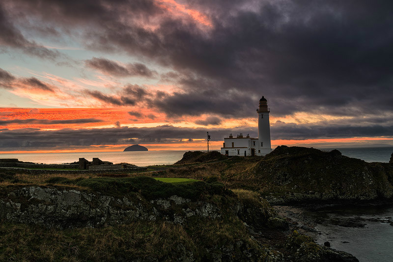 Turnberry Sunset - Ayrshire Gallery