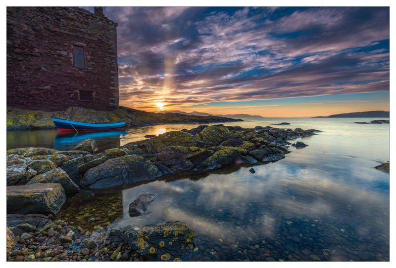 Arran Sunset - Ayrshire Gallery