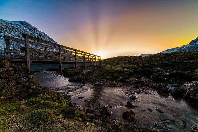 The bridge to a Climb - The Light Captured