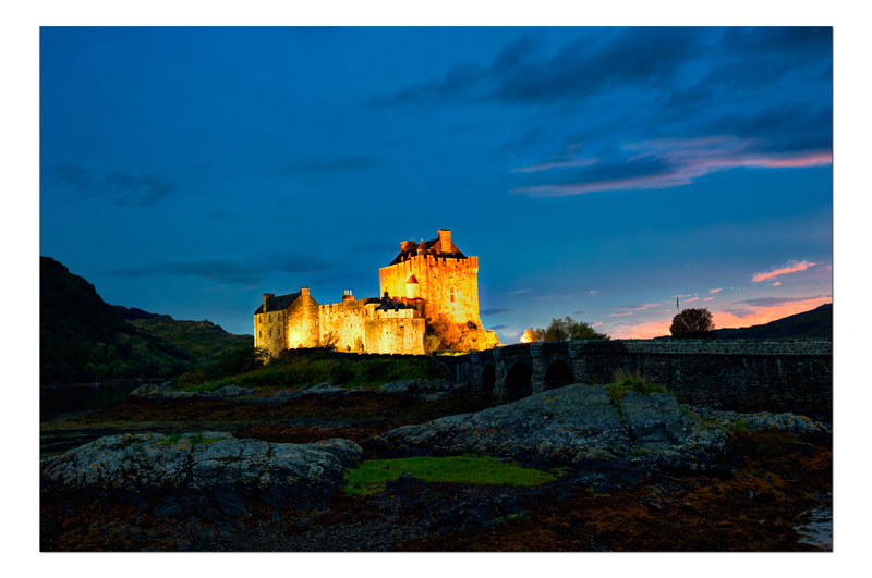 Eilean-Donan castle - The Light Captured
