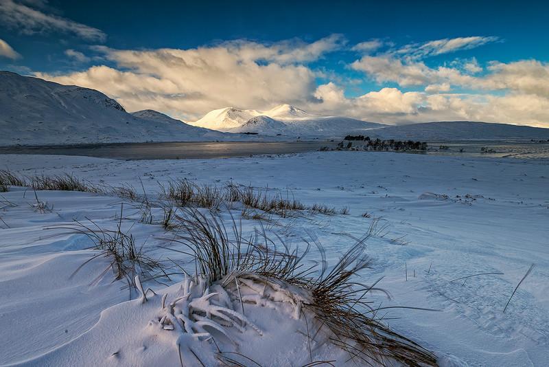 Rannoch in Winter - The Light Captured