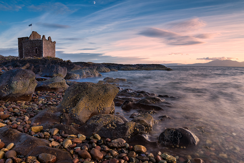 Evening at the Castle - Ayrshire Gallery
