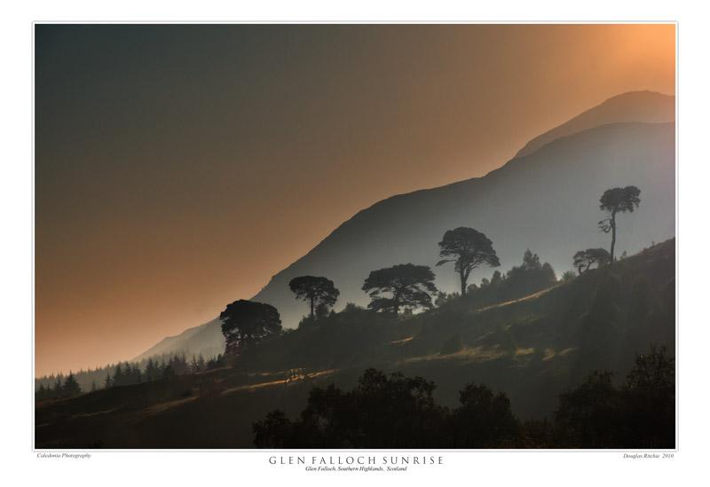 Glen Falloch Sunrise - The Light Captured