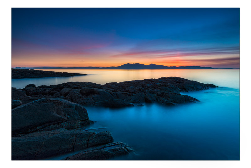 Colour washed Evening - Ayrshire Gallery