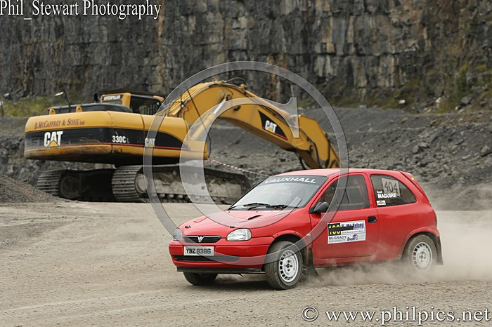 CC 9 - CAMPBELL CONTRACTS RALLY TIME TRIAL - CARN QUARRY - (2015)