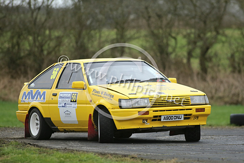 PNS 42 - PACENOTES MAGAZINE STAGES - KIRKISTOWN (2017)