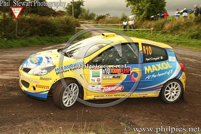 UR 16 - TODDS LEAP ULSTER RALLY (2013)