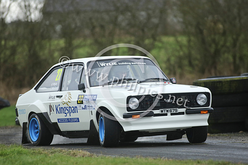 PNS 21 - PACENOTES MAGAZINE STAGES - KIRKISTOWN (2017)