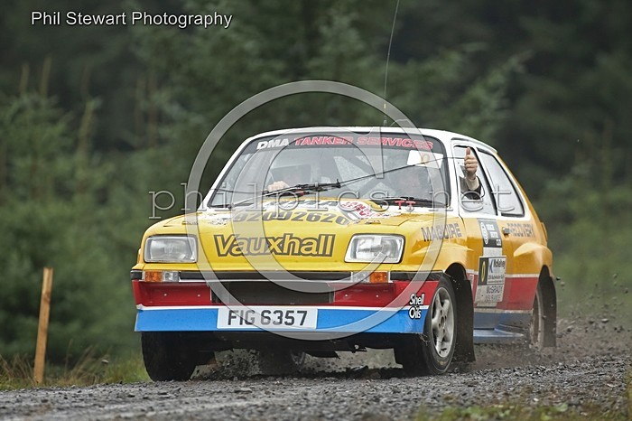 BW 3 - OMAGH MOTOR CLUB BUSHWACKER RALLY (2016)