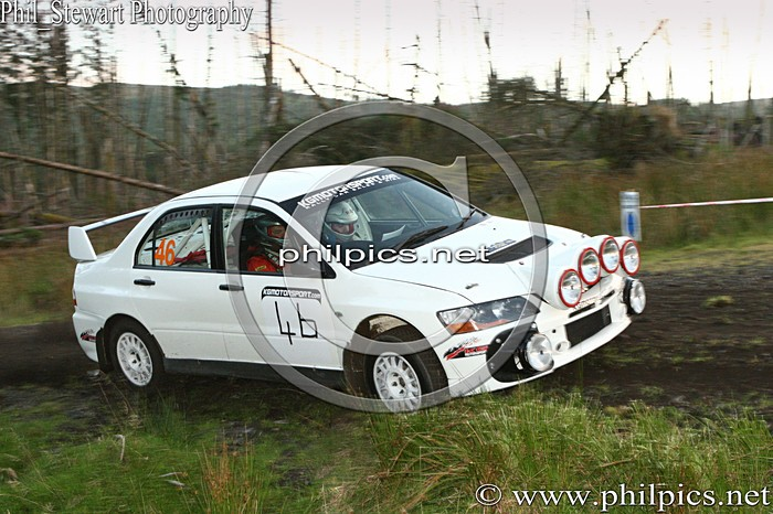 SS 23 - MAGHERAFELT AND DISTRICT MOTOR CLUB SUNSET RALLY (2013)
