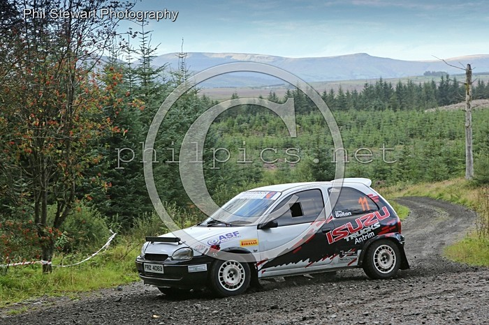 SS RTT 19 - MAGHERAFELT MOTOR CLUB SUNSET RALLY TIME TRIAL - DAVAGH (2016)