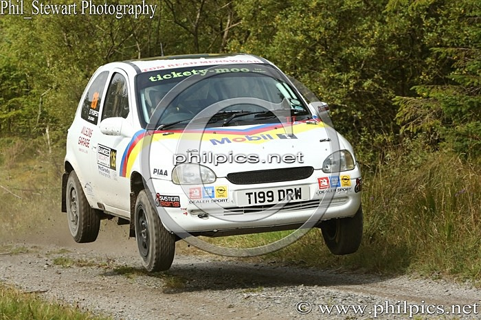 SS3 9 - SAMDEC SECURITY LAKELAND STAGES RALLY (2014)