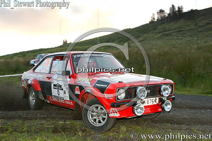SS 17 - MAGHERAFELT AND DISTRICT MOTOR CLUB SUNSET RALLY (2013)