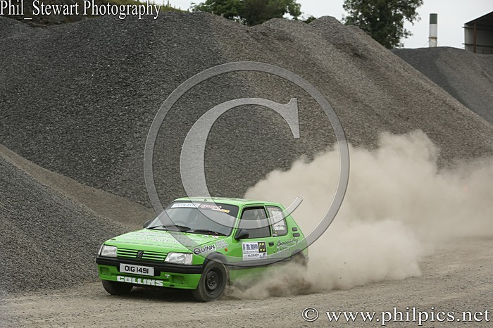 CC 8 - CAMPBELL CONTRACTS RALLY TIME TRIAL - CARN QUARRY - (2015)
