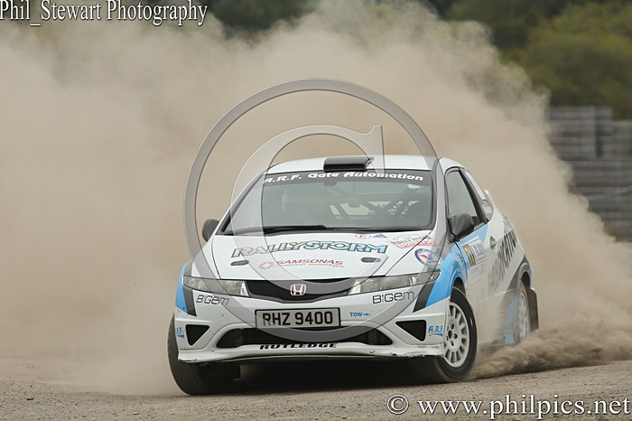 CC 2 - CAMPBELL CONTRACTS RALLY TIME TRIAL - CARN QUARRY - (2015)