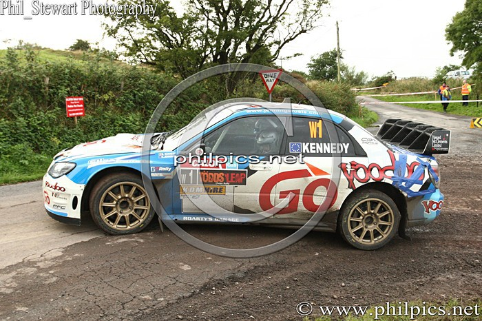 UR 11 - TODDS LEAP ULSTER RALLY (2013)