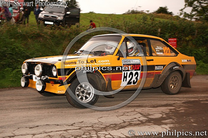 UR 24 - TODDS LEAP ULSTER RALLY (2013)