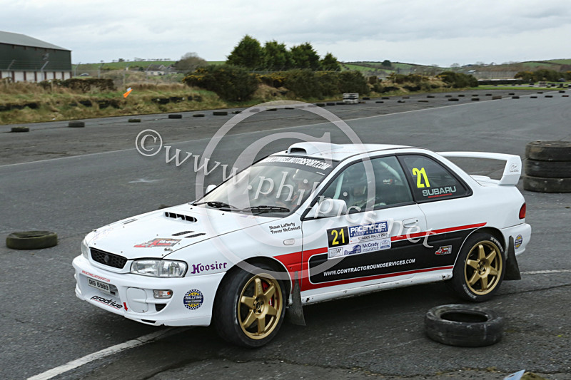 PNS 15 - PACENOTES MAGAZINE STAGES - KIRKISTOWN (2017)
